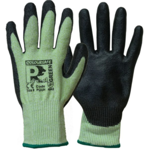 Pred Green PU Cut Protection Gloves