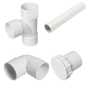 Solvent Weld Waste Pipe & Fittings