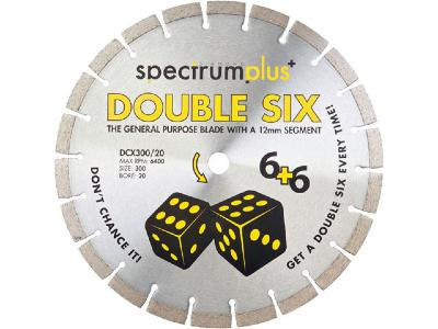 Spectrum Double Six Diamond Blades