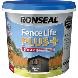 Ronseal Fencelife Plus Charcoal Grey 5ltr