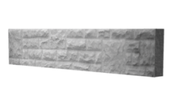 Concrete Rock Faced Gravel Board 1830mm x 305  x 50mm